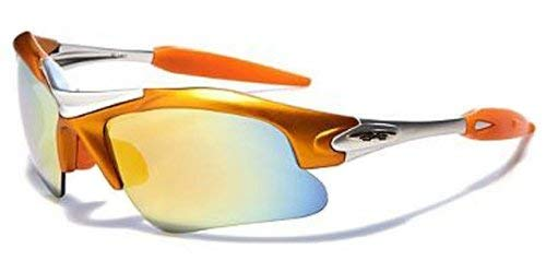 XLoop High Profile Sport Cycling Triathlon Sunglasses (Orange)