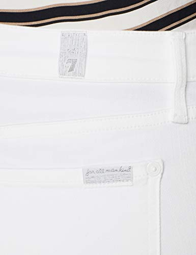 International Skinny White 0zr Donna Pure Sagl Bianco Jeans Illusion slim Crop For Seven All The Mankind wYAZqU
