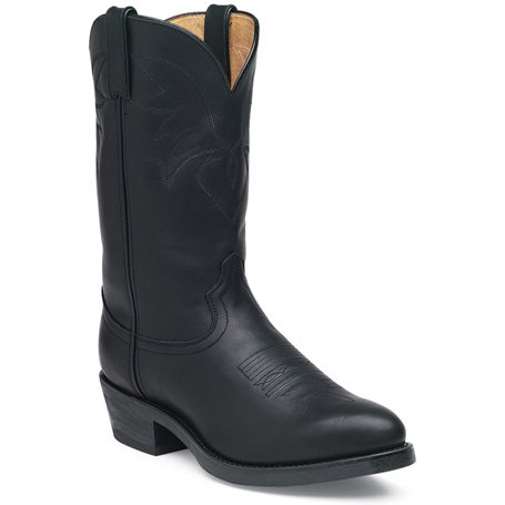 Durango Mens 11 Lacci In Pelle Nera Con Lacci In Pelle Oliata Nera Western Boot-tr760
