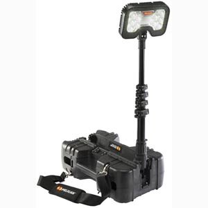 Pelican 9490 | 6000 Lumen Remote Area LED Work Light Black