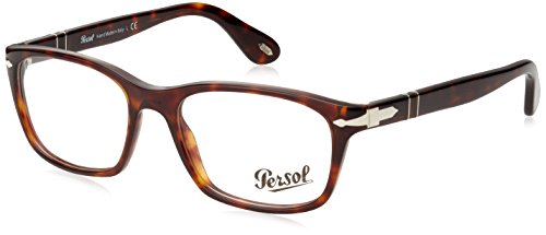 Persol Men's PO3012V Eyeglasses Havana 52mm by Persol
