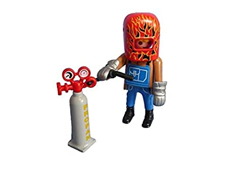 Promohobby Figura de Playmobil Serie 14 de Soldador: Amazon.es: Juguetes y juegos