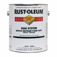 Rust-OLEUM H7195 5600 Floor Paint Safety Red 1 gal.