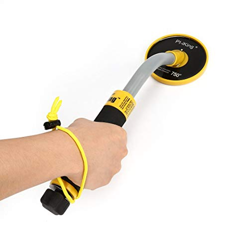 Amazon.com: Exiao PI-750 Handheld Pulse Induction Underwater Waterproof Metal Detector Gold Coin Treasure Search Vibration Light Alarm: Toys & Games