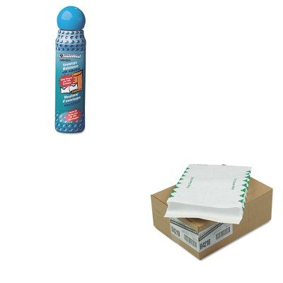 KITQUA46065QUAR4210 - Value Kit - Survivor Tyvek Expansion Mailer (QUAR4210) and Quality Park Envelope Moistener w/Adhesive (QUA46065) by Survivor
