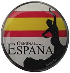 Pegatinas Gota de Resina bandera original de España sevillana 4 x ...