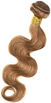 CUIYUNTAOshop ウェーブ ナチュラル ヘア エクステンション 茶色 簡単クリップ付き ファッション ロング クリップ ふわふわ レディース ウイッグ 超薄型 つけ毛 エクステ 自然 襟足ウィッグ(100グラム、1バンドル) (Color : Brown, Size : 24 inch)