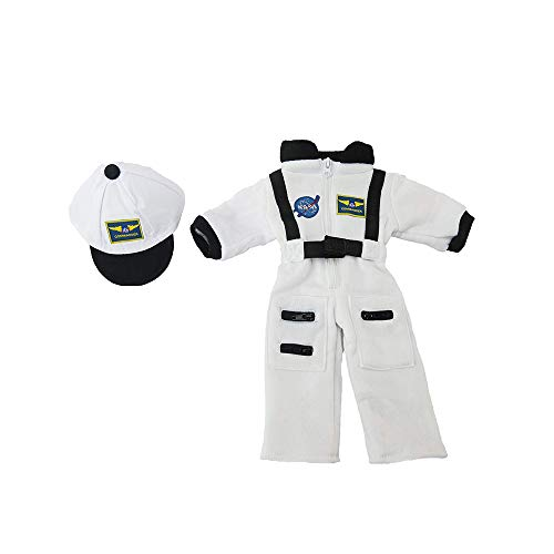 Astronaut White Space Suit   Fits 18 American Girl Dolls, Madame Alexander, Our Generation, etc.   18 Inch Doll Clothes