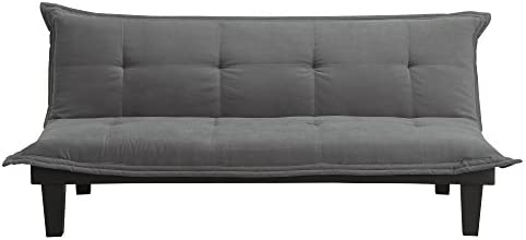 home, kitchen, furniture, living room furniture, futons,  futon sets 4 on sale DHP Lodge Convertible Futon Couch Bed with Microfiber deals