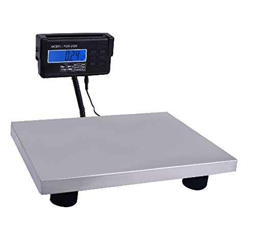 440 lbs x 0.1 Lb Digital Floor Bench Platform Postal Scale KG/LB/OZ 200Kg Ship from USA
