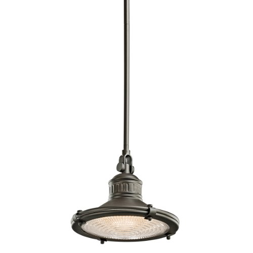 Kichler 42436OZ 1 Light Pendant Bronze