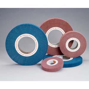 6 x 1 x 2 Buff and Blend Flap Brush 3 Units FB072 15-87 A VFN Medium Density Standard Abrasives 875000