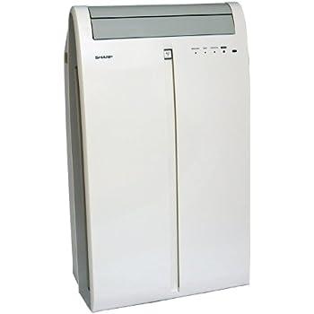 Sharp CV P10MX 9500 BTU Portable Air Conditioner White