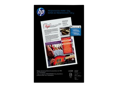 HP Q2547A Color Laser Glossy Presentation Paper - Tabloid...