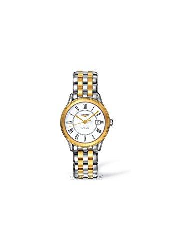 Longines Les Grandes Classic Flagship L4.774.3.21.7 Automatic Smaller Size Transparent Case Back Men's Watch ()