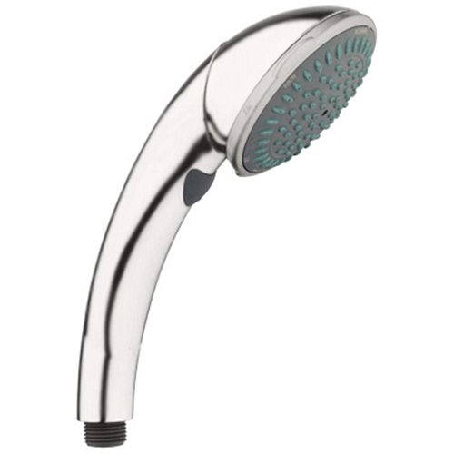 Movario Handheld Showerhead - Grohe 28 441 ENE Movario WaterCare Trio Hand Shower, Brushed Nickel