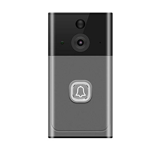 (Longshow Video doorbell, Battery-Powered WiFi Low-Power Intelligent Video doorbell Wireless Video Doorbell 720P HD Wide-Angle Lens Door View Security Camera for Private Houses, Villas, Offices, Hotel)