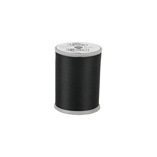 The Finishing Touch Embroidery & Sewing Bobbin Thread 1200yds. 100% Polyester 60wt. Black 5 Spools BCACS32255