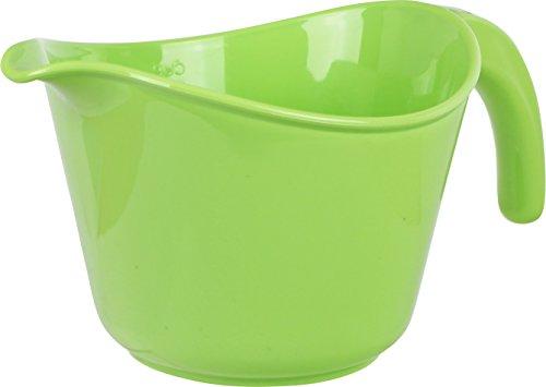 Reston Lloyd 92901 Calypso Basics 2-Quart Microwave Safe Batter Bowl, Lime