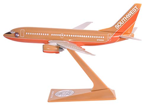 Southwest Nolan Ryan 737-700 Airplane Miniature Model Plastic Snap-Fit 1:200 Part# ABO-73770H-200