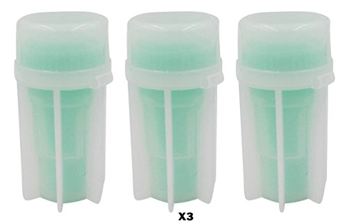 Stool Sample Collection Kit (3 Pack) - Dog Poop Test Tubes for Collecting Pet (Dog Cat) Feces to Take to the Vet for Fecal Testing for Parasites and other Diagnostic Tests - Convenient for Pet Owners