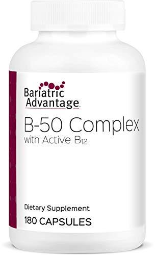 Bariatric Advantage - B-50 Complex Capsules, 180 Count (Best B 50 Complex Vitamin)