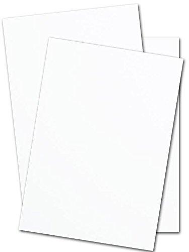 Heavy White Card Stock 18