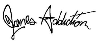 Janes Addiction Rock Band - Sticker Graphic - Auto, Wall, Laptop, Cell, Truck Sticker for Windows, Cars, Trucks