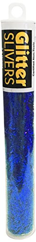 Signature Crafts Glitter Slivers, Blue