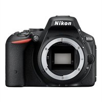 Nikon D5500 Wi-Fi Digital SLR Camera Body (Black) (Certified Refurbished) by Nikon