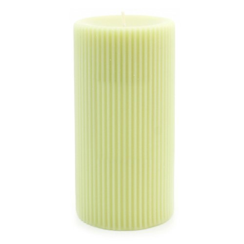 Orchard Pillar Candle - Root Grecian Scented Beeswax Pillar Candle Inch, 3 x 6, Apple Orchard