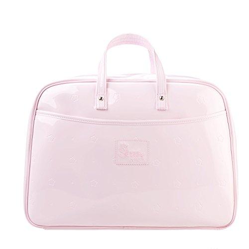 Baby Star M2206 - Bolso maleta maternidad, color topo Rosa