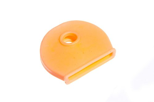 ORANGE KEY COVER CAP ID TAG USED FOR COLOUR CODEING PACK OF 6