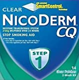 Nicoderm Step 1 CQ 14 Clear Patches (WITHOUT BOX). Exp: 7/2015