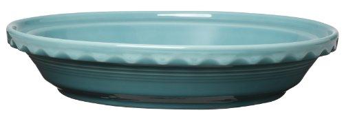 Fiesta 10-1/4-Inch Deep Dish Pie Baker, Turquoise