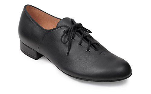 Bloch Mens Jazz Cuir Semelle Lace Up Oxfords Noir