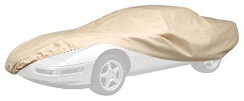 Covercraft Ready-Fit Deluxe 380 Series Long Car Cover, Tan - Covercraft Universal Cab Cover