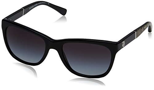 Michael Kors MK2022 316811 Black / Print Rania II Cats Eyes Sunglasses Lens - Michael Sunglasses Kors Black