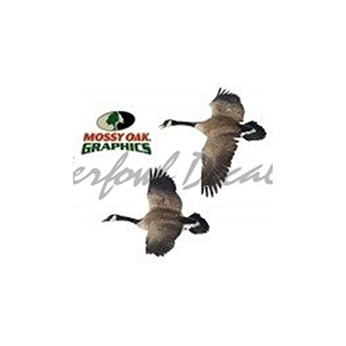 Canada Goose Flying Left Cut Out Decal Flying Goose Patch Sticker by -