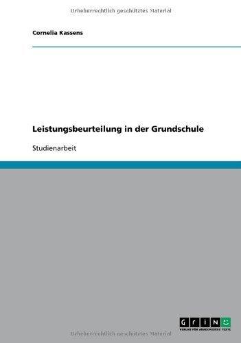 Amazon.com: Leistungsbeurteilung in der Grundschule (German Edition ...