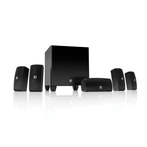 Jbl Surround Sound System - JBL Cinema 610 Advanced 5.1 Home Theater Speaker System with Powered Subwoofer