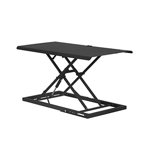 XJY Stand-up Computer Lift Table Laptop Table Stand Office Stand with Notebook Folding Workbench