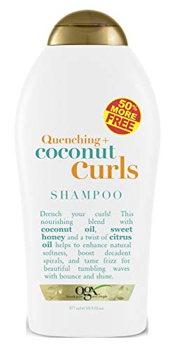 Ogx Shampoo Coconut Curls 19.5 Ounce (577ml) (2 Pack)