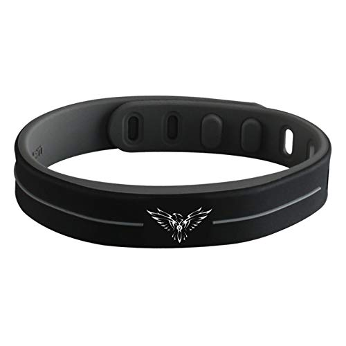 Anti EMF Power Wristband, 3000 ion shielding from Cellphone and Computer Radiation, Improved Circulation and Energy in Muscles
