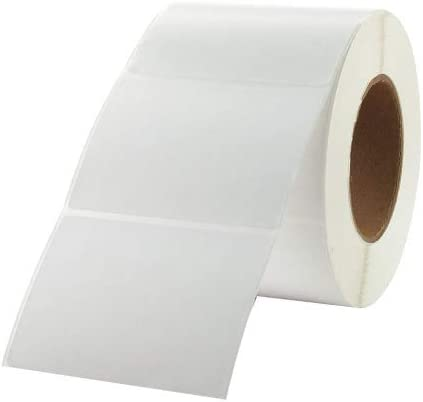 Crane Consumables Label White Direct Thermal Paper PK4-4x3 DT-P
