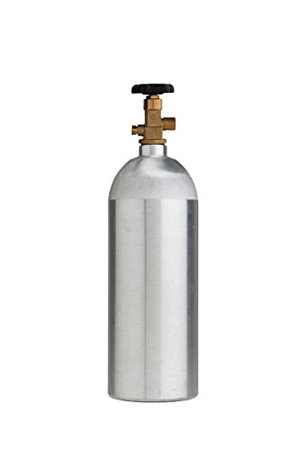 - Cyl-Tec CO2 Aluminum Cylinder with CGA 320 Valve, 5 lb