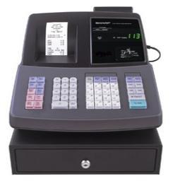 Sharp XE-A507 Cash Register 20 depts / 99 with shift (XE-A507) - Sharp Xea507