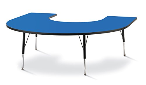 Horseshoe Table For Classroom - 5