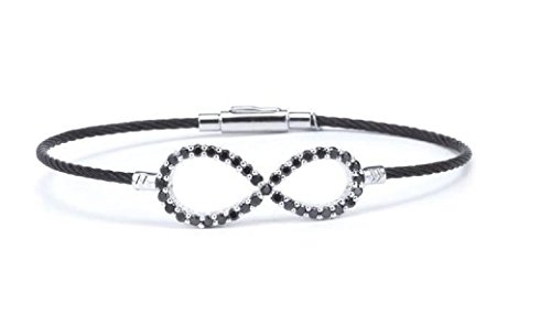 charriol-laetitia-silver-bangle-with-black-spinel-04-321-1222-1