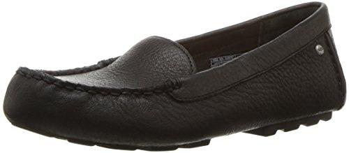 Ugg Women's Milana Boat Shoe, Black, 6 B US